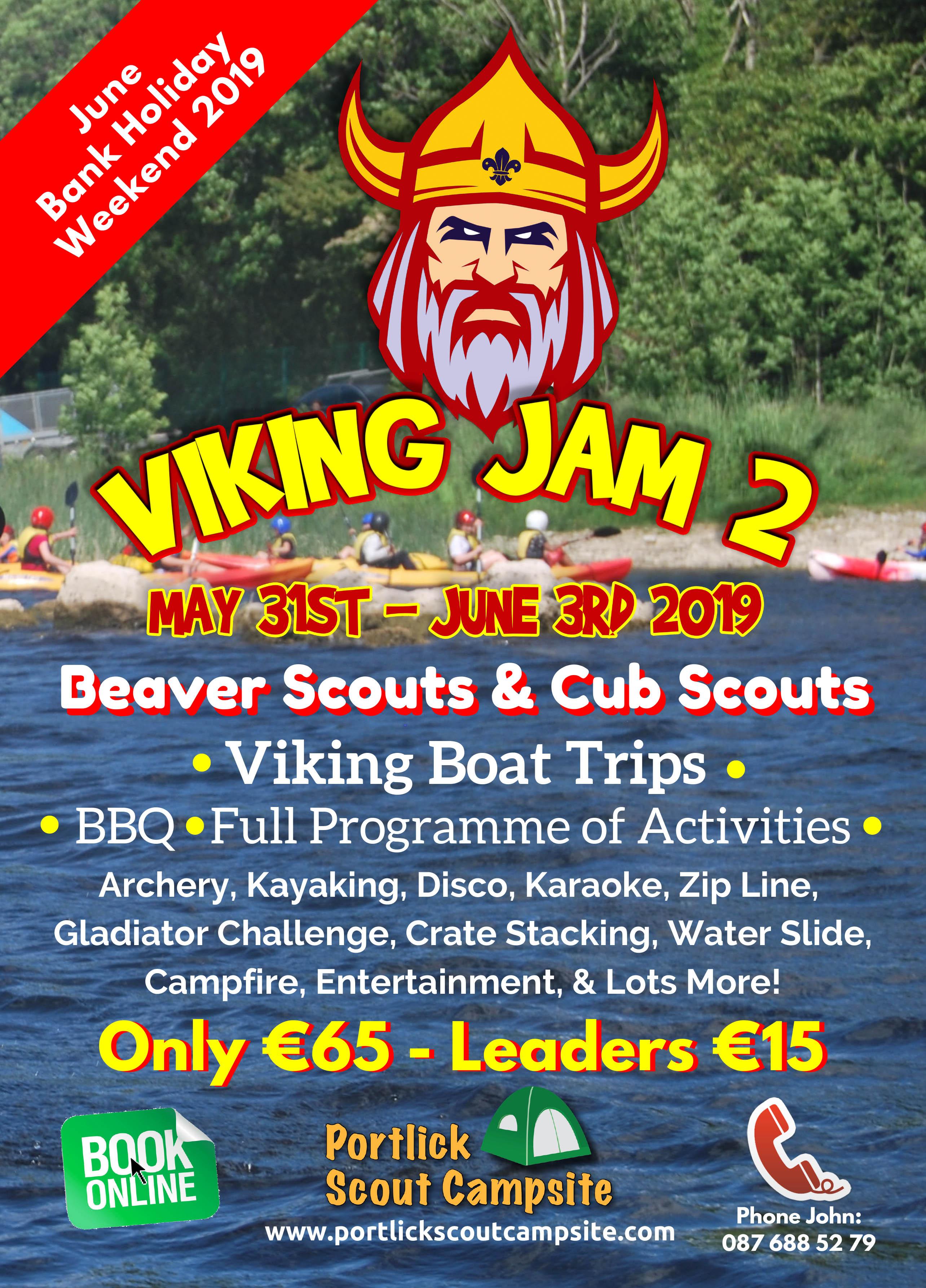 Viking Jam, Portlick Scout Campsite